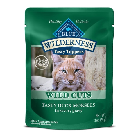 Blue Buffalo Blue Wilderness Wild Cuts Tasty Duck Morsels Wet Cat Food