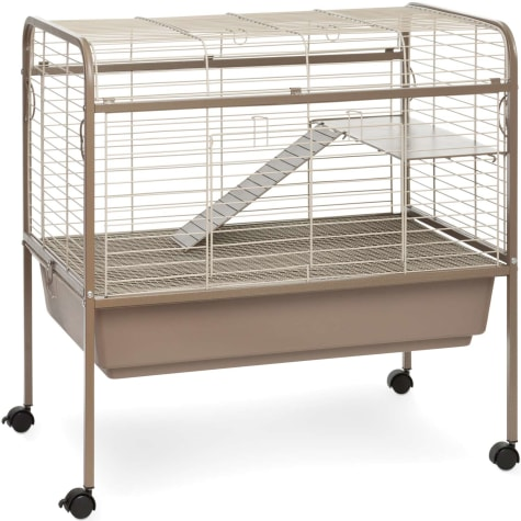 Prevue Pet Products Cocoa & Cream Small Animal Cage with Stand