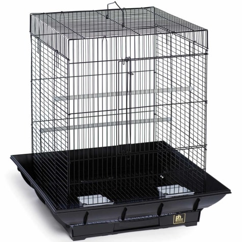 Prevue Pet Products Clean Life Series Bird Cage in Black
