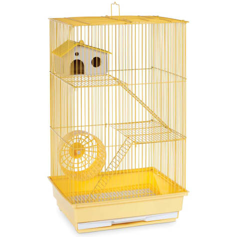 Prevue Pet Products Three Story Yellow Small Animal Cage