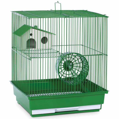 Prevue Pet Products Two Story Green Small Animal Cage