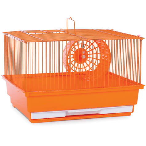 Prevue Pet Products Single Story Orange Small Animal Cage