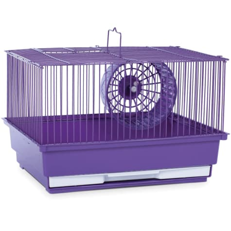 Prevue Pet Products Single Story Purple Small Animal Cage