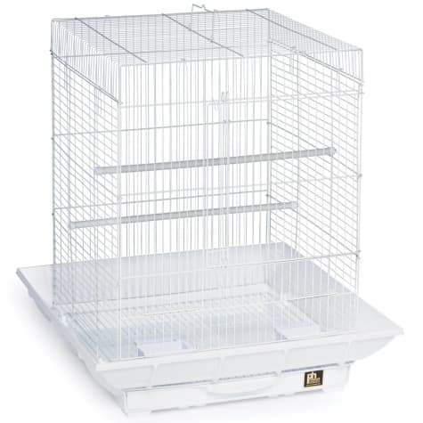 Prevue Pet Products Clean Life Series Bird Cage in White