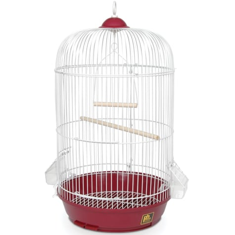 Prevue Pet Products Classic Round Bird Cage in Red