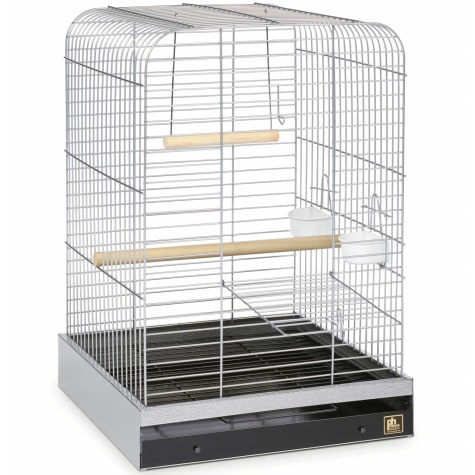 Prevue Pet Products Parrot Cage in Chrome