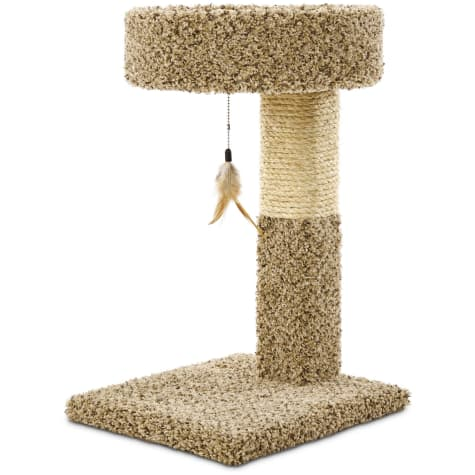 You & Me Cat Tree with Replaceable Toy