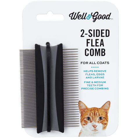 Well & Good 2-Sided Cat Flea Comb