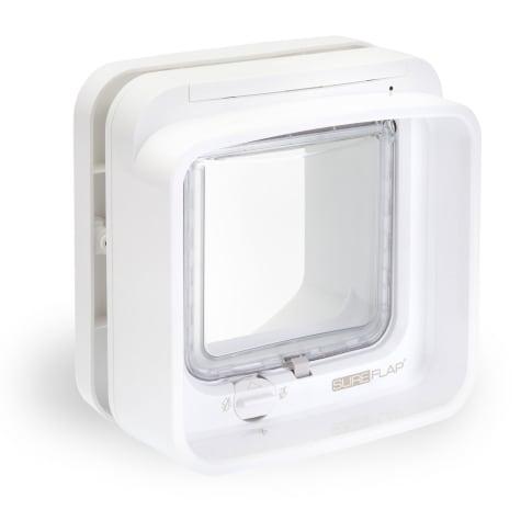 SureFlap Dualscan Microchip Cat Flap, White