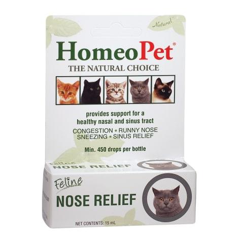 Homeopet Feline Nose Relief 15 Ml Petco