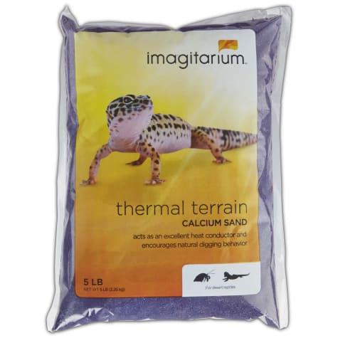 Imagitarium Violet Calcium Reptile Sand
