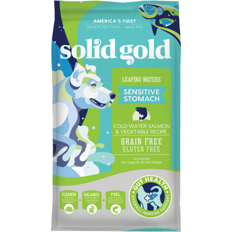 Solid Gold Grain-Free & Gluten Free Leaping Waters with Cold Water Salmon & Vegetable Recipe Adult Dry Dog Food