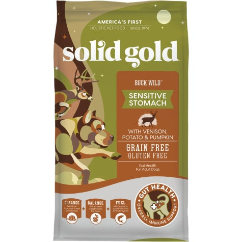 Solid Gold Buck Wild Venison, Potato and Pumpkin Dry Dog Food
