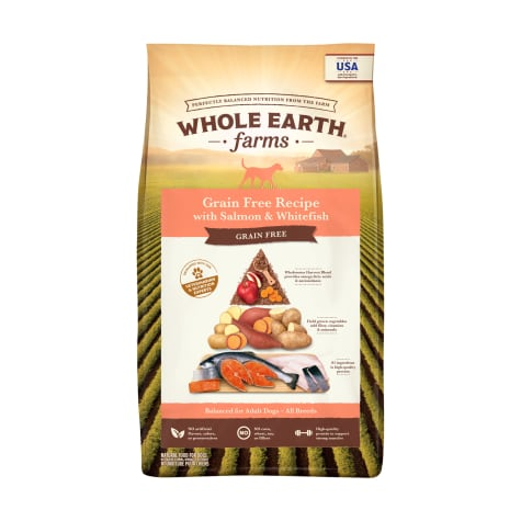 Whole Earth Farms Grain Free Recipe with Salmon & Whitefish Dry Dog Food