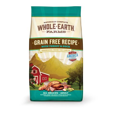 Whole Earth Farms Grain Free Recipe with Turkey & Duck Dry Dog Food
