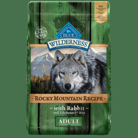 Blue Buffalo Blue Wilderness Rocky Mountain Recipe Rabbit Adult Dog Food