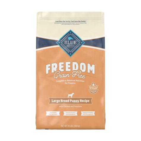 Blue Buffalo Blue Freedom Grain Free Chicken Recipe Large Breed Puppy Food