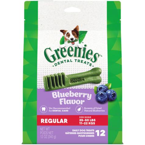 Greenies Blueberry Flavor Regular Size Dog Dental Chews
