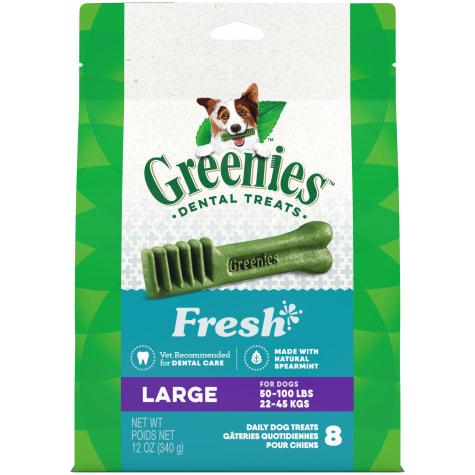 Greenies Fresh Large Dental Dog Treats