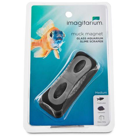 Imagitarium Medium Muck Magnet Glass Aquarium Scraper