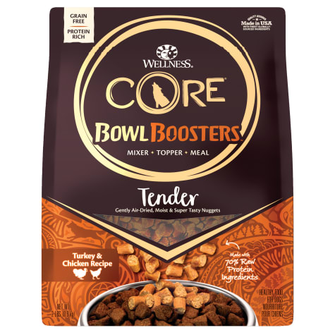 Wellness CORE Natural Bowl Boosters Tender Turkey & Chicken Recipe Dry Dog Food