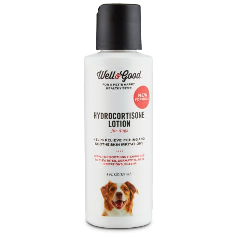 Well & Good Dog Hydrocortisone Lotion