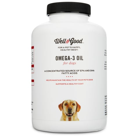 Well & Good Skin & Coat Omega-3 Dog Capsules