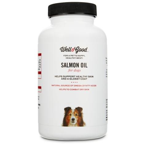 Well & Good Skin & Coat Salmon Oil Dog Capsules