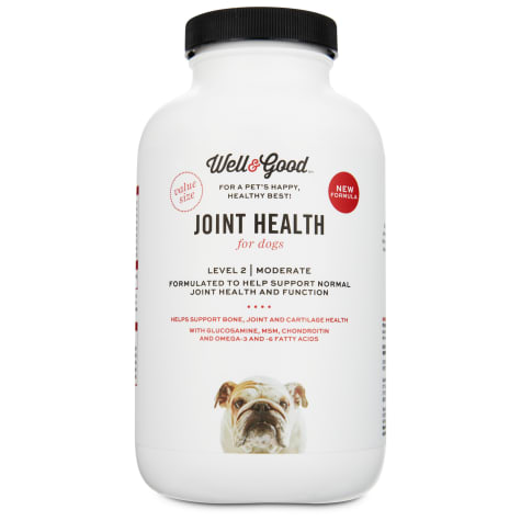 Well & Good Joint Support II Dog Tablets