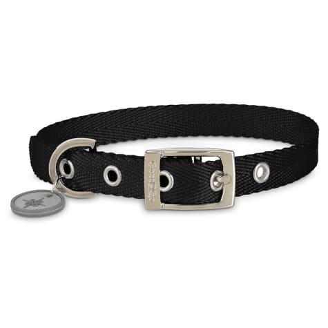 Good2Go Adjustable Black Nylon Buckle Dog Collar