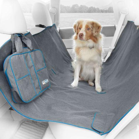 Kurgo Heather Hammock Gray Dog Car Seat Cover