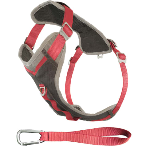 Kurgo Gray & Pink Journey Dog Harness
