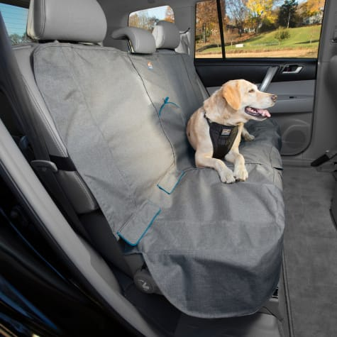 Kurgo Grey and Blue Bench Seat Cover