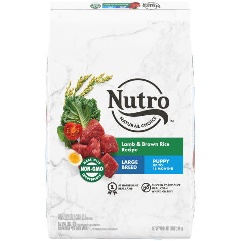 Nutro Wholesome Essentials Puppy Large Breed Natural Lamb & Rice Recipe Dry Food