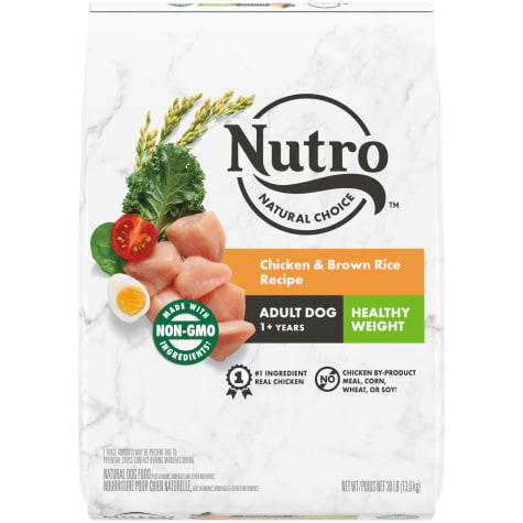 Nutro Wholesome Essentials Healthy Weight Farm-Raised Chicken, Brown Rice & Sweet Potato Recipe Dry Adult Dog Food