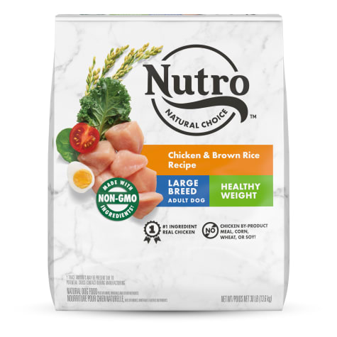 Nutro Wholesome Essentials Healthy Weight Farm-Raised Chicken, Rice & Sweet Potato Large Breed Adult Dry Dog Food