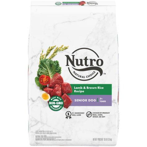 Nutro Wholesome Essentials Natural Lamb & Rice Recipe Senior Dry Dog Food