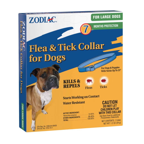 Zodiac Flea & Tick Dog Collar for Large Dogs & Puppies