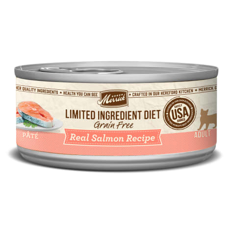 Merrick Limited Ingredient Diet Grain Free Salmon Canned Cat Food