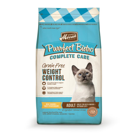 Merrick Purrfect Bistro Grain Free Complete Care Weight Control Recipe Dry Cat Food