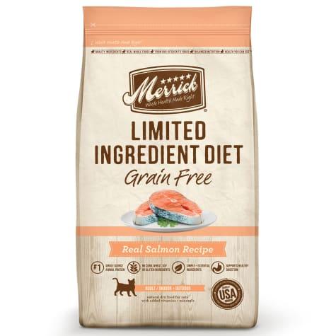 Merrick Limited Ingredient Diet Grain Free Salmon Dry Cat Food