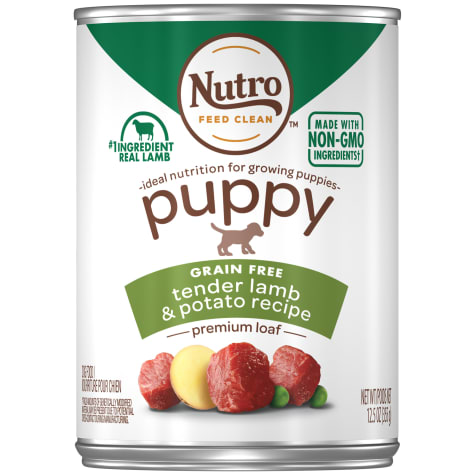 Nutro Premium Loaf Tender Lamb & Potato Recipe Canned Wet Puppy Food