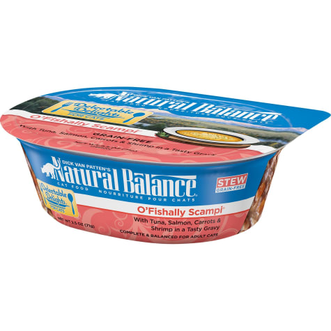 Natural Balance Delectable Delights O'Fishally Scampi Grain Free Adult Wet Cat Food
