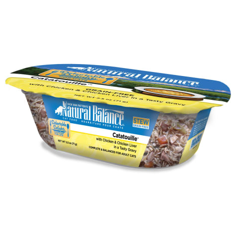 Natural Balance Delectable Delights Catatouille Grain Free Adult Wet Cat Food