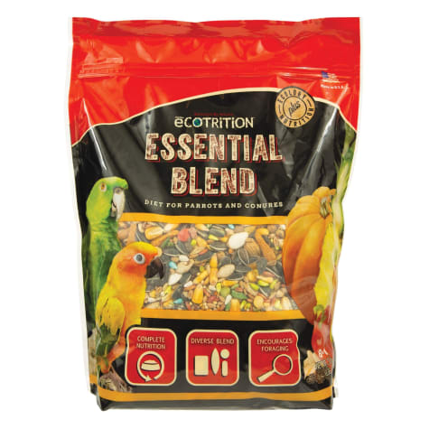 eCOTRITION Essential Blend Food For Parrots And Conures