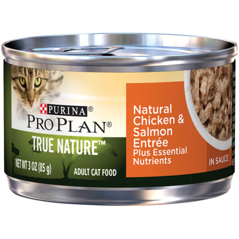 Purina Pro Plan Natural Chicken & Salmon Entree in Sauce Wet Cat Food