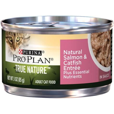 Purina Pro Plan Natural Salmon & Catfish Entree in Sauce Wet Cat Food