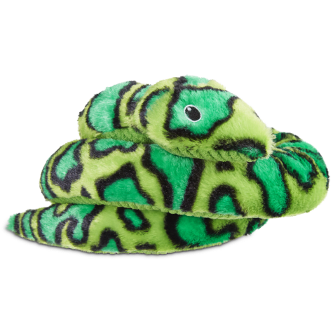 Leaps &  Bounds Large Wildlife Snake Plush Toy