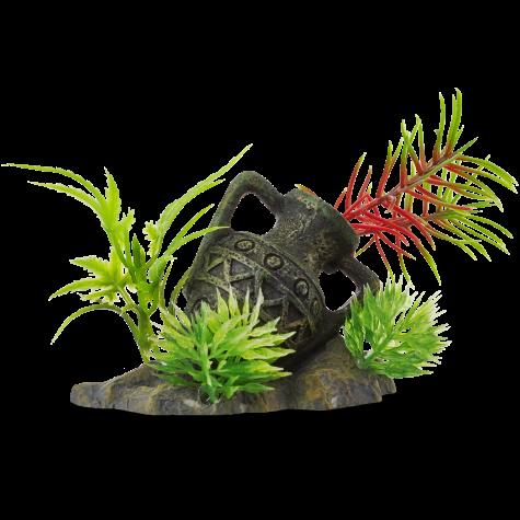 Imagitarium Gallipot with Plant Ornament
