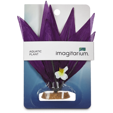 Imagitarium Purple Burst Silk Plants Aquatic Decor